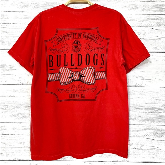 Comfort Colors Other - Red Georgia Bulldogs T-Shirt
